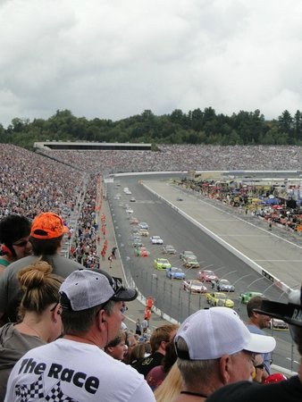 New Hampshire Motor Speedway : concord section