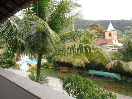 Pousada Recreio da Praia: vista para o jardim/piscina
