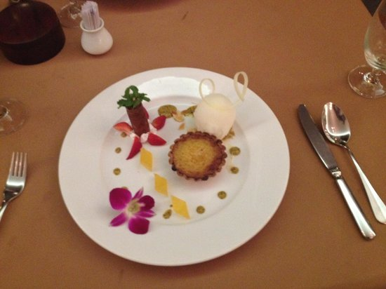 Victoria Can Tho Resort: Lemon Tart
