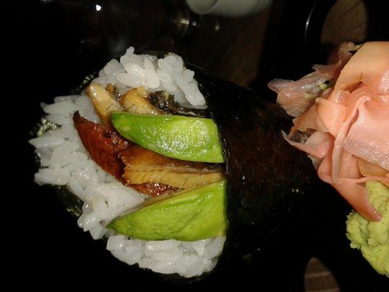 Eel hand roll (Ichiban)