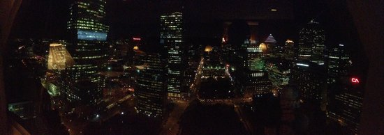 Montreal Marriott Chateau Champlain : View from the Concierge Lounge