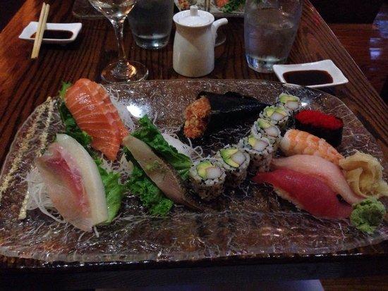Natsumi: Combo sushis & sashimi