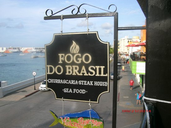 Fogo do Brasil: Second Floor Sign