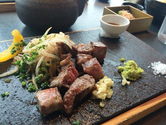 Matenro: ランチのサーロインステーキ