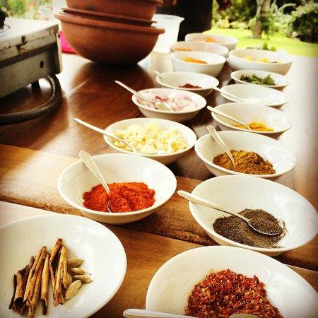 Niyagama House: Cooking class