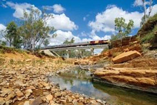 Spirit of the Outback Train