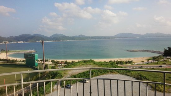 Hotel Yugaf  Inn Okinawa : 部屋からの眺め
