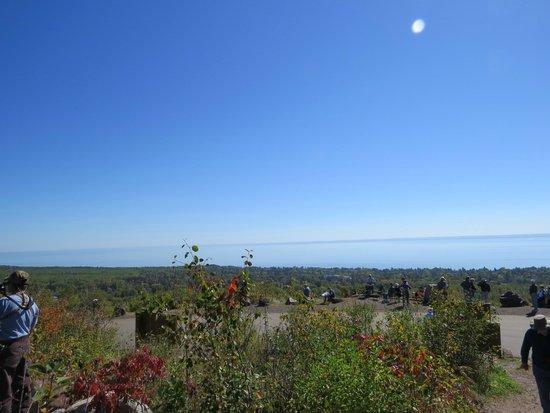 Hawk Ridge Bird Observatory: View North