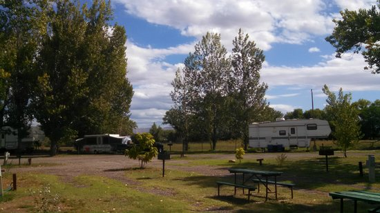Shady Acres RV Park and Campground : View Southeast