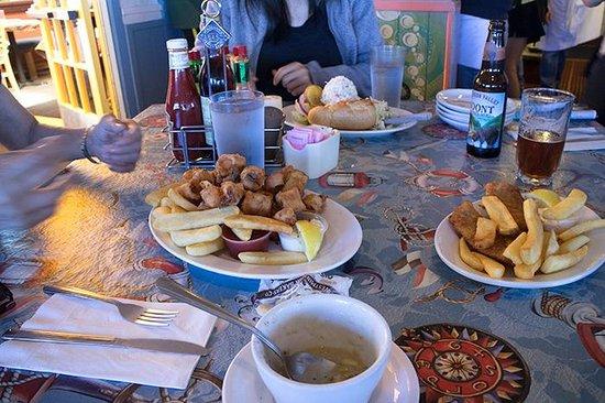 Barbara's Fishtrap : 天ぷらです?
