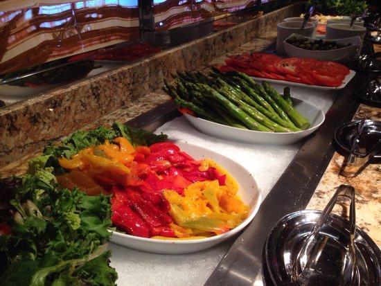 Μίντλαντ, Τέξας: Salad bar