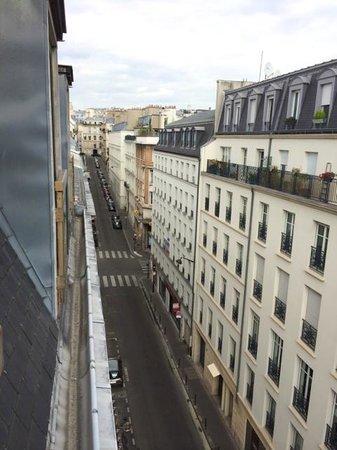 Hotel Touraine Opera : 部屋からの景色