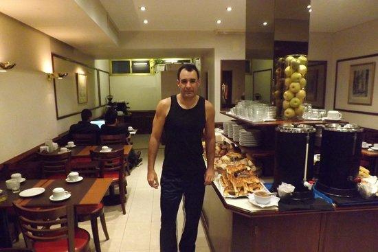 Waldorf Hotel: Cafe da manha