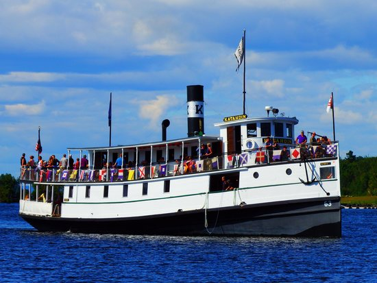 Moosehead Lake: Katahdin steam boat