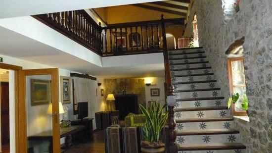 Hotel Rural & Spa Monnaber Nou: Monnaber Nou Annex lobby