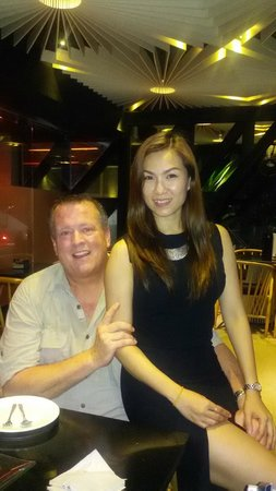 El Gaucho Argentinian Steakhouse: Yui and I