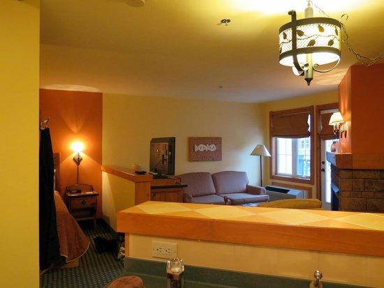Lodge de la Montagne: living room