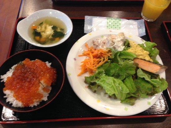 Sapporo Clark Hotel: 朝食バイキング(例)