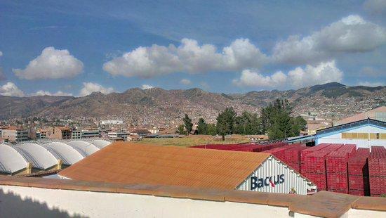 Hotel Golden Inca: Visão do topo do hotel