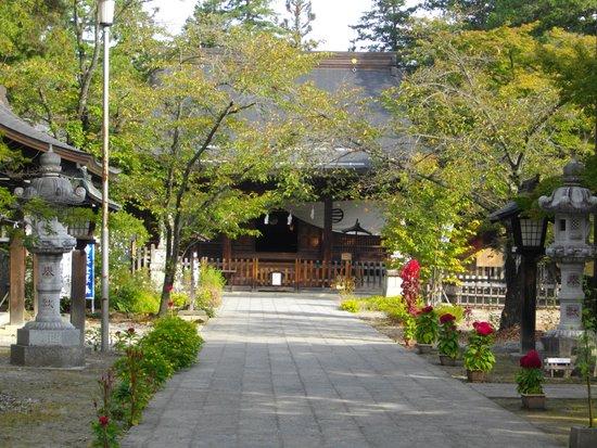 Matsushiro : 象山神社
