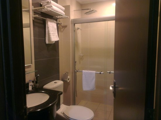 1 City Hotel: The toilet / bathroom