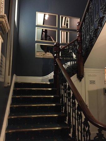 Lenna of Hobart: staircase