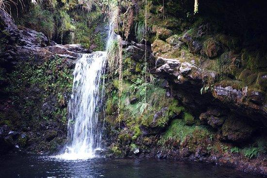 The Secret Garden Cotopaxi: The waterfall !