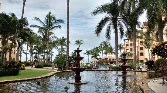 Villa La Estancia Beach Resort & Spa Riviera Nayarit: Vista desde el restaurant.