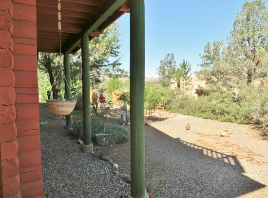 Sedona Dream Maker Bed & Breakfast: View from the Pinon Pine Suite