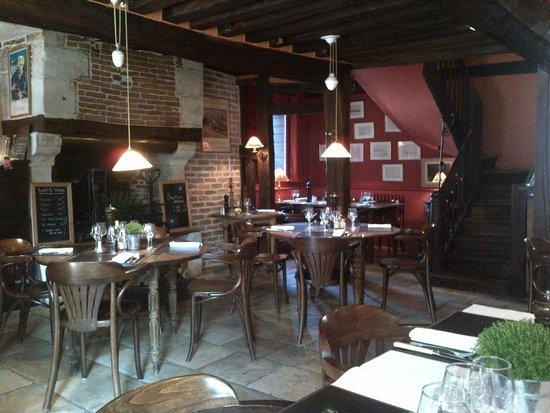 salle  Picture of LHomme de Bois, Honfleur  TripAdvisor