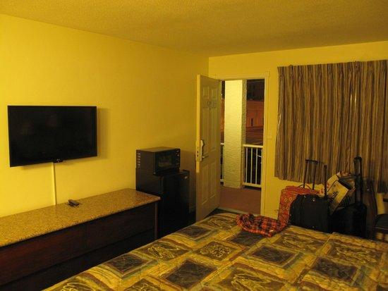 Rodeway Inn Downtown Phoenix: Bedroom