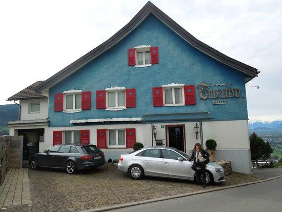 Bildstein, Österreich: Hotel Traube Oct 14 2013