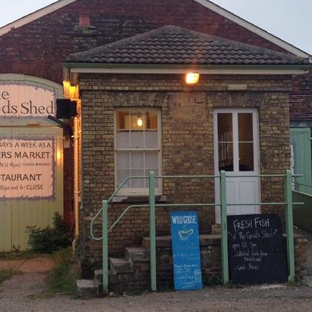The Goods Shed Restaurant: Rafael's is located in the Goods Shed