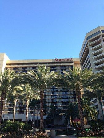 Anaheim Marriott: 外観