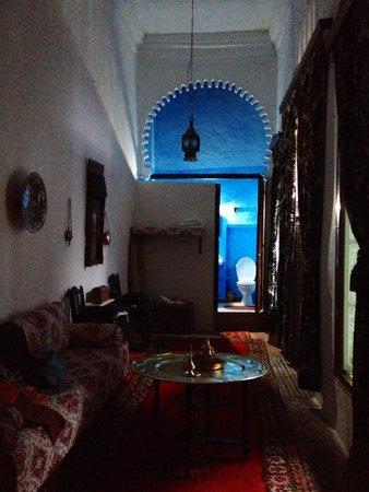 Riad Dalia Tetouan : Comfort room
