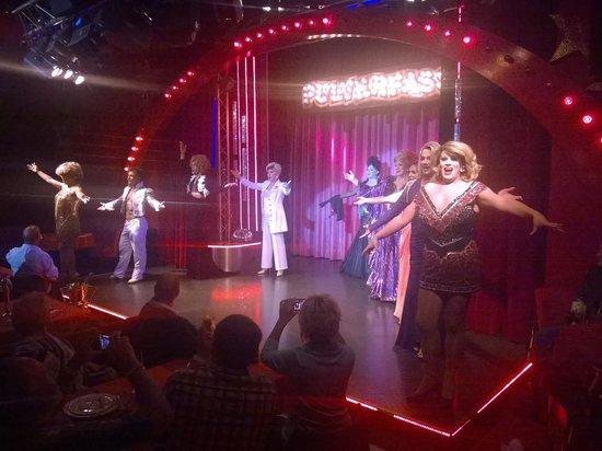 Pulverfass Travesty Cabaret: Pulverfass - Bilder beim Finale zugelassen :-)