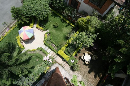 Kathmandu Garden House: le jardin