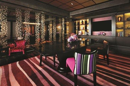 The Scarlet Singapore: Bold Meeting Room