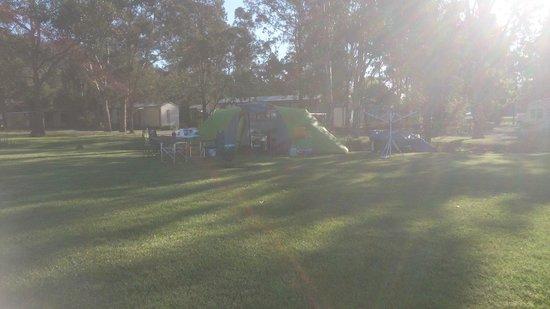 Glenmack Park: Camping Site