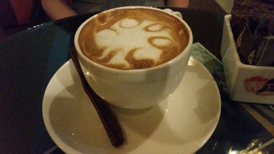 Mr Tan Coffee House: Best latte I've tried in Thailand.
