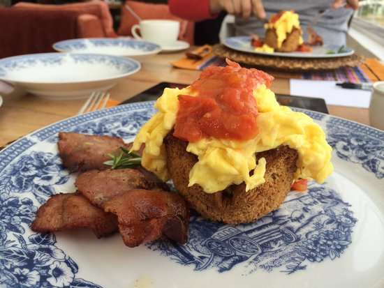 Paternoster Dunes Boutique Guest House: Breakfast at Dunes