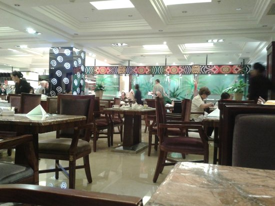 Beijing International Hotel: Restaurant at breakfast