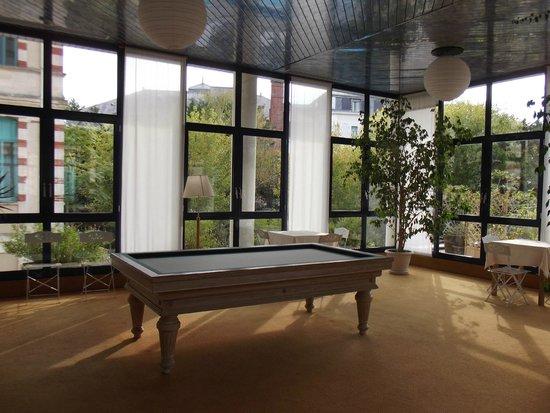 Residence Villa Regina: pour amateurs de billard dans le patio