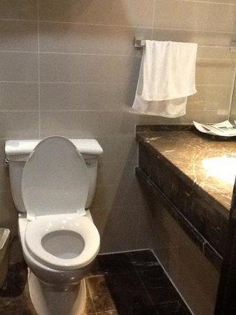 Henan Business Hotel: Bathroom