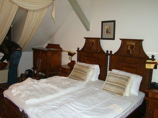 Hotel U Krale Karla (King Charles): la chambre