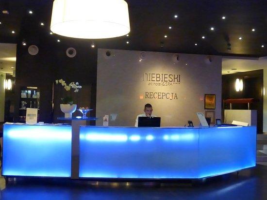 Niebieski Art Hotel & Spa : Recepción