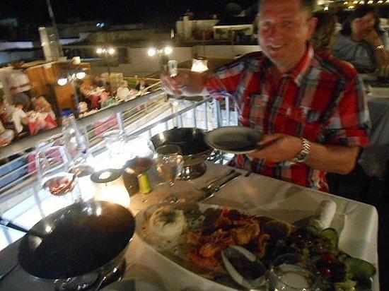 Mavrikos: Lindos Night