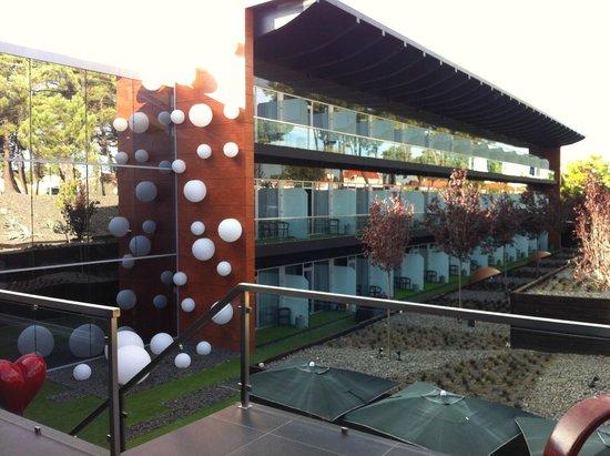 Evidencia Belverde Atitude Hotel: vue de la piscine