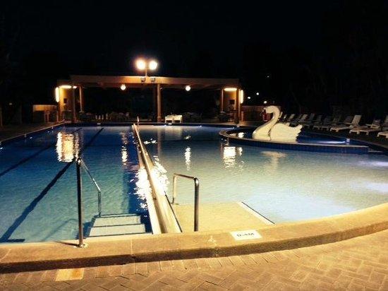 Pool by night Picture of Kalbarri Beach Resort Kalbarri