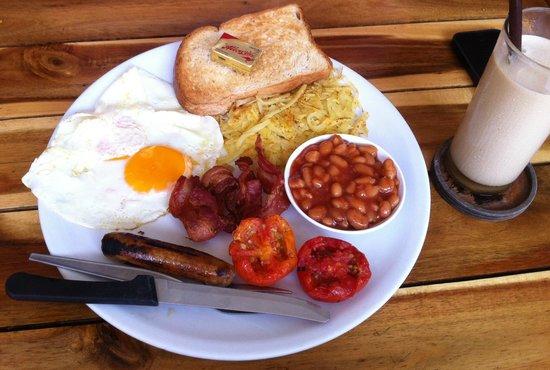 Zest Coffee Shop,Koh Tao: English Breakfast